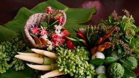 De groente op de lijst is gezondheidszorgvoedsel Stock Fotografie
