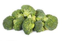 De groente van broccoli op witte achtergrond Royalty-vrije Stock Foto's