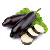 De groente van de aubergine stock foto