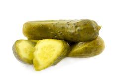 De groenten in het zuur van de dille stock foto