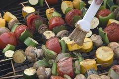 De Groenten van de barbecue Royalty-vrije Stock Foto's
