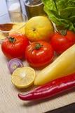 De groenten van de close-up stock afbeeldingen