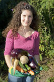 De groenten van de holding Royalty-vrije Stock Fotografie