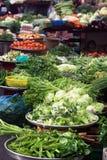 De groenten van de markt Stock Afbeeldingen
