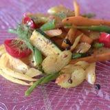 De groenten van grammasala stock fotografie