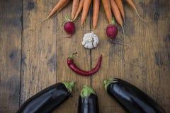 De groenten van Healty Stock Afbeelding