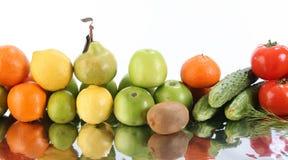 De groenten van het fruit Stock Foto