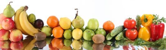 De groenten van het fruit Stock Fotografie
