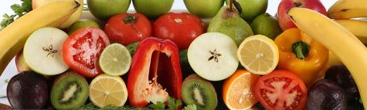 De groenten van het fruit Stock Afbeelding