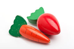 De groenten van het stuk speelgoed Stock Foto's