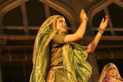 De Groep van dans-Pandit Birju Maharaj van Kathak Stock Afbeelding