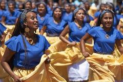 De Groep van de Afrodescendientedans - Arica, Chili Royalty-vrije Stock Foto