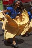 De Groep van de Afrodescendientedans - Arica, Chili Stock Fotografie