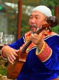 De Groep van de Dans van Buryat Royalty-vrije Stock Foto