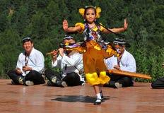 De Groep van de Dans van Oezbekistan Royalty-vrije Stock Foto's