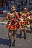De Groep van de Diabladadans - Arica, Chili Stock Fotografie