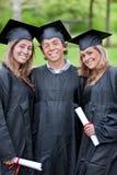 De groep van de graduatie Royalty-vrije Stock Afbeeldingen