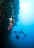 De Groep van de scuba-duiker Stock Foto