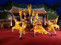 De Tempel van Shaolin van China presteert in NP360 Royalty-vrije Stock Foto