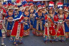 De Groep van de Tinkudans - Arica, Chili Stock Fotografie