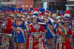 De Groep van de Tinkudans - Arica, Chili Royalty-vrije Stock Afbeeldingen