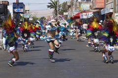 De Groep van de Tobasdans - Arica, Chili Stock Foto