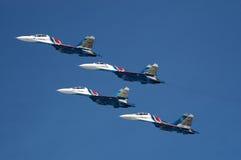 De groep van de vlucht Royalty-vrije Stock Foto