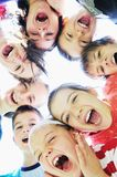De groep van het kind Stock Afbeelding
