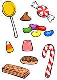 De Groep van het suikergoed Royalty-vrije Stock Afbeeldingen