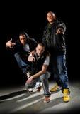 De Groep van Hip Hop stock afbeeldingen