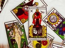 De Groepsmening van tarotkaarten Royalty-vrije Stock Afbeeldingen