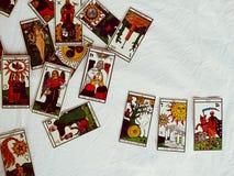 De Groepsmening van tarotkaarten Royalty-vrije Stock Afbeelding