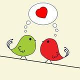 De groet van de valentijnskaart Stock Fotografie