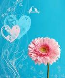 De groet van de valentijnskaart Royalty-vrije Stock Foto