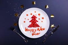 De groet van het nieuwjaar royalty-vrije stock foto