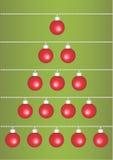 De groet van Kerstmis Stock Foto