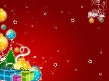 De groeten van Kerstmis Stock Foto's