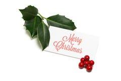 De Groeten van Kerstmis Royalty-vrije Stock Foto
