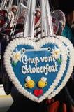 De groeten van Oktoberfest Stock Fotografie