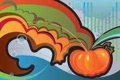 De groetenkaart van de herfst Stock Foto
