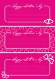 De groetenkaart van de valentijnskaart Royalty-vrije Stock Foto
