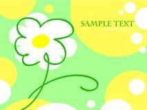 De groetenkaart van de zomer Stock Afbeeldingen