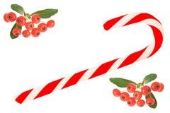 De groetenkaart van Kerstmis Stock Afbeelding