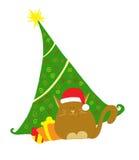De groetenkaart van Kerstmis Royalty-vrije Stock Fotografie