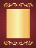 De groetkaart van de luxe royalty-vrije illustratie