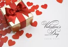 De groetkaart van de valentijnskaart Royalty-vrije Stock Foto
