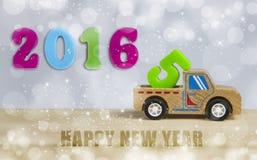De groetkaart van het nieuwjaar Stock Fotografie