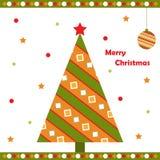 De groetkaart van Kerstmis Royalty-vrije Stock Foto