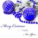 De groetkaart van Kerstmis Royalty-vrije Stock Foto's