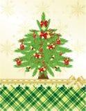 De groetkaart van Kerstmis & van het nieuw-Jaar Royalty-vrije Stock Fotografie